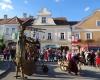 Burgfräuleins, Rittersleut und schräge Gesellen beim Mittelalterfest in Eggenburg© Alexandra Gruber