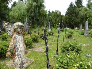 Der Friedhof in Döllersheim © Alexandra Gruber
