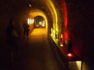 Der historische Erlebniskeller in Retz ist rund 20 Kilometer lang und bis zu 20 Meter tief @ Wolfgang Muhr
